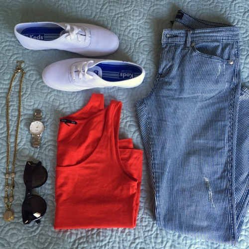 Back to Basics: 4th of July Outfit