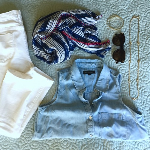 Summer Staples: 4th of July Outfit