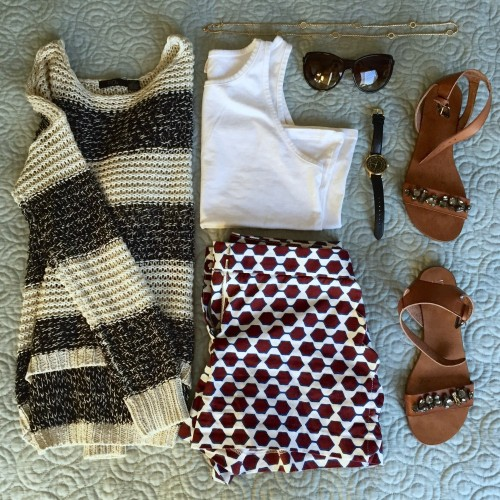 Play with Patterns: 4th of July Outfit