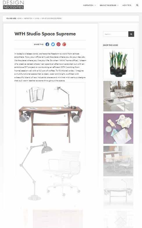 Dream Studio Space & Other Life Goals | Design Necessities Guest Blog Post