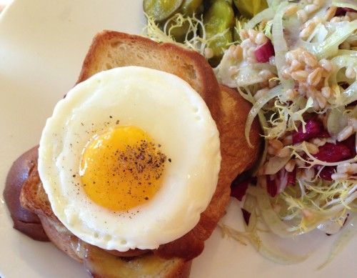 the Girl & the Fig - Croque Monsieur