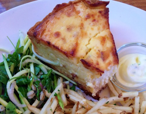Girl and the Fig - Quiche du Jour